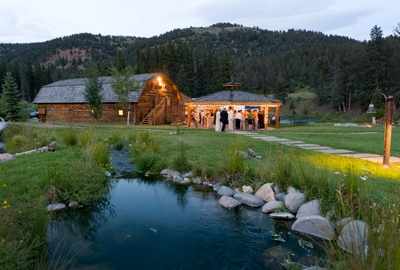 Picture Of The Rainbow Ranch In Sky Montana